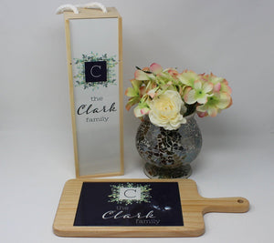 Platters - Personalized Wood Cheeseboard | Custom Wine Accessories | Succulent Bouquet - This & That Solutions