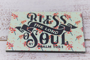 Refrigerator Magnets | Personalized Magnet | Custom Photo Magnet | Bless The Lord | This and That Solutions | Personalized Gifts | Custom Home Décor