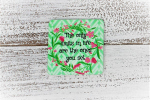 Refrigerator Magnets | Personalized Magnet | Custom Photo Magnet | Floral Mint | This and That Solutions | Personalized Gifts | Custom Home Décor