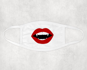 Personalized Face Mask | Custom Face Coverings | Vampire
