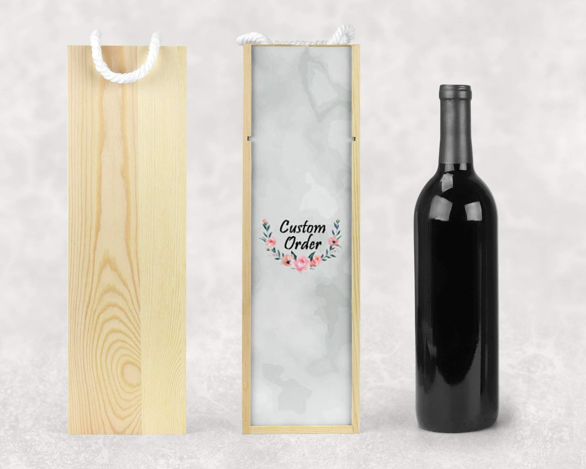 Wine & Beer Storage | Personalized Wine Box | Custom Wine Gifts | Wine Storage | Custom Order | This and That Solutions | Personalized Gifts | Custom Home Décor