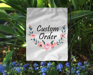 Yard Art | Personalized Garden Flag | Custom Yard Decorations | Pool Rules | This and That Solutions | Personalized Gifts | Custom Home Décor