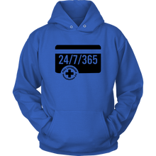 Load image into Gallery viewer, 24/7/365 Hoodie