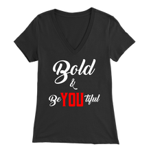 Load image into Gallery viewer, Bold & BeYOUtiful V-Neck Tee