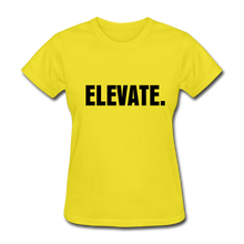 Load image into Gallery viewer, ELEVATE T-Shirt - yellow