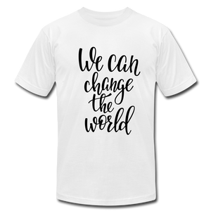 CHANGE Unisex T-Shirt - white