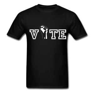 VOTE Unisex T-Shirt - black
