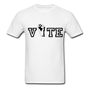 VOTE Unisex T-shirt - white