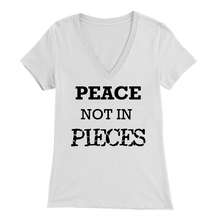 Load image into Gallery viewer, PEACE V-Neck Tee