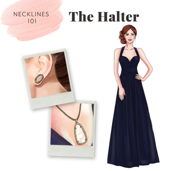 accessorizing halter dresses