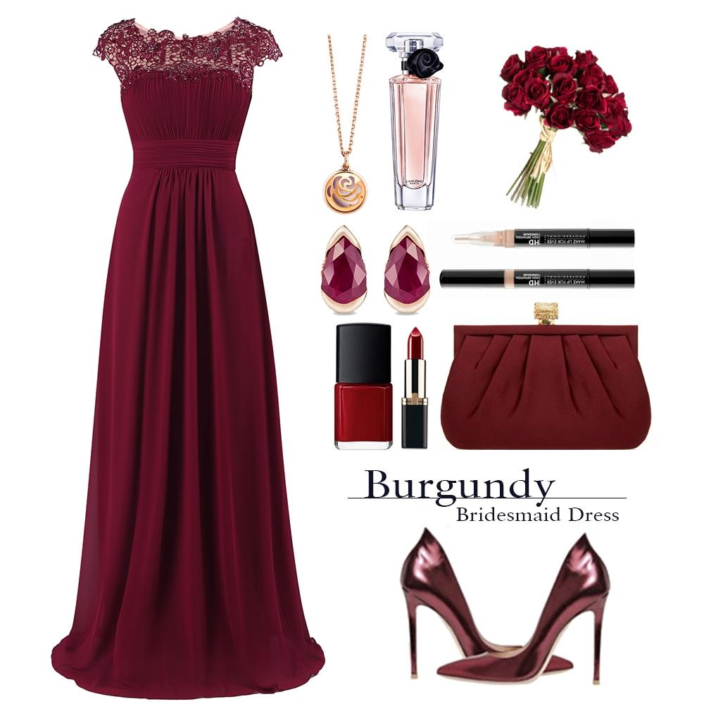 burgundy bridesmaid dress style guide
