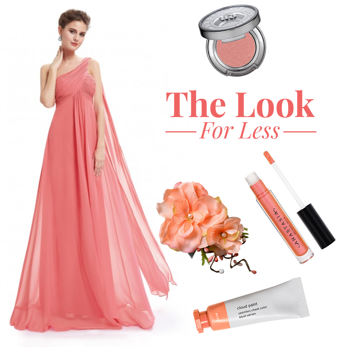 coral bridesmaid dress style guide