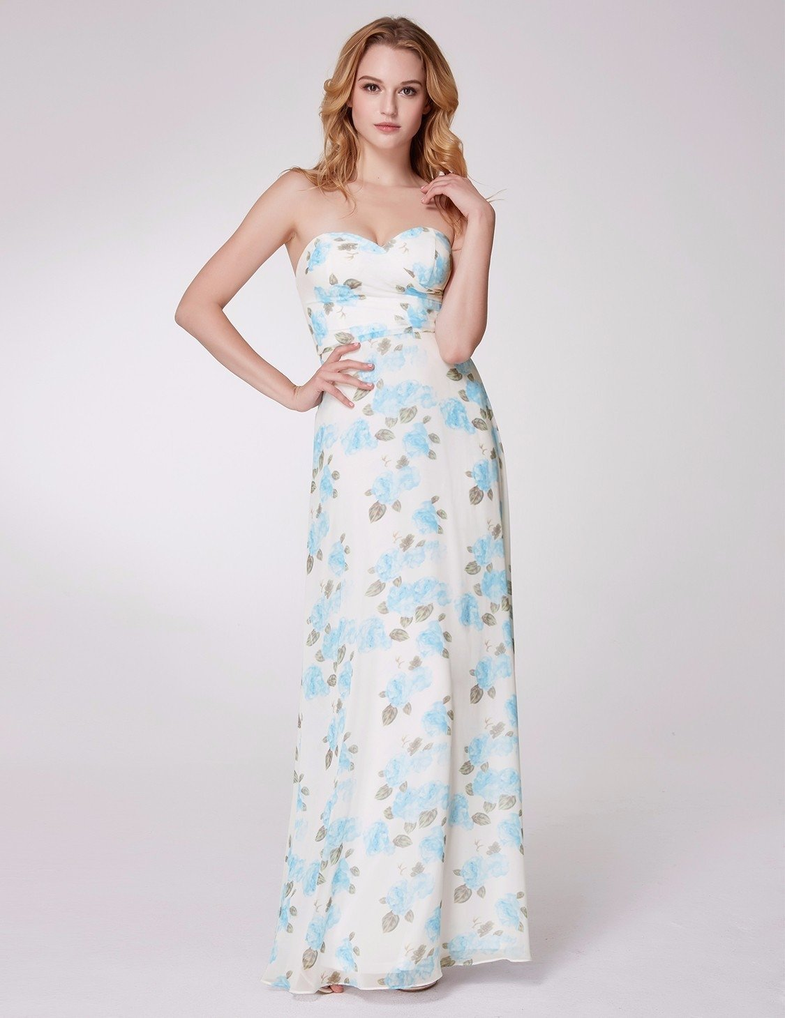 floral bridesmaid dress 2