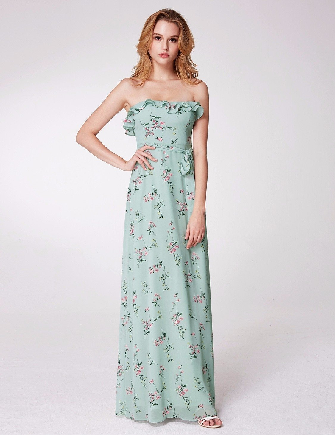 floral bridesmaid dress 4