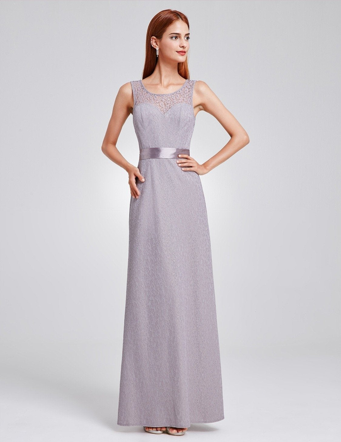 grey bridesmaid dress 2
