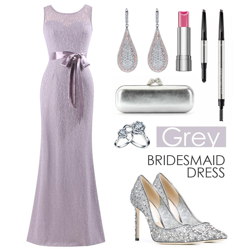 grey bridesmaid dress style guide 2