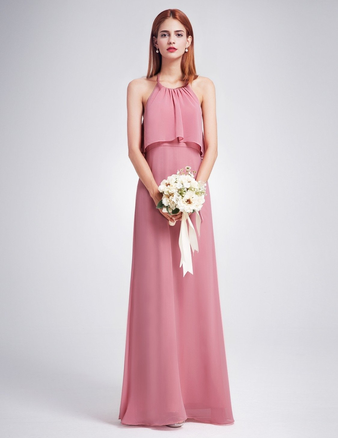 pink bridesmaid dress 3