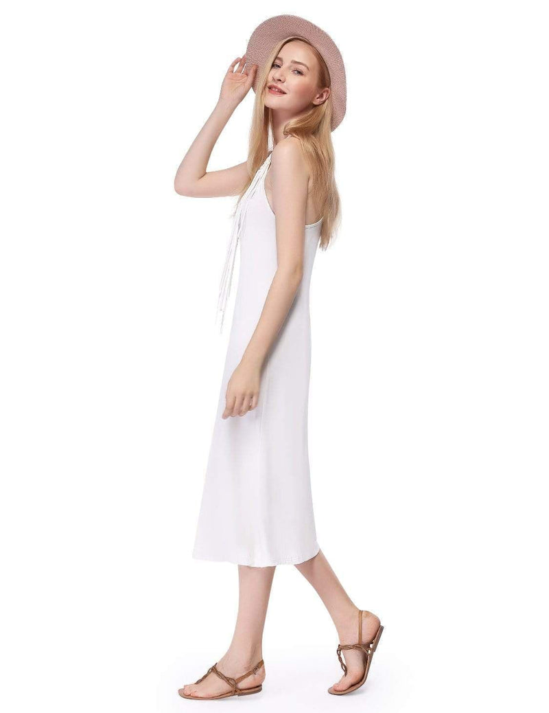 Alisa Pan Boho Midi Summer Dress-Cream 5