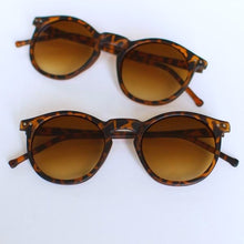 Load image into Gallery viewer, 'Shades of Cool' leopard sunglasses with brown glasses
