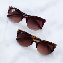 Load image into Gallery viewer, 'Feelin' myself' brown round shape sunglasses