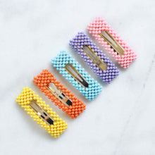 Load image into Gallery viewer, 'Nyma' colorful beaded hair clip - 5 colors available