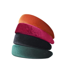 Load image into Gallery viewer, 'Aluma' corduroy thick statement headband - 4 colors available