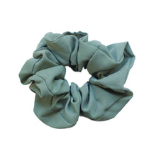 Load image into Gallery viewer, Khaki green scrunchie