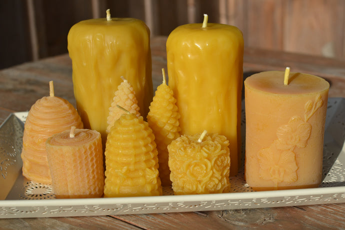 A Guide to Burning Beeswax Candles
