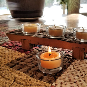 Handmade Wooden Tealight Holder