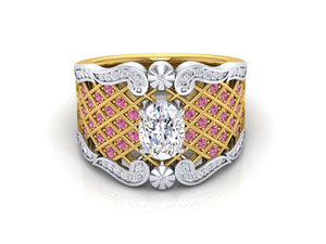 The Custom Ready Single Girl Ring