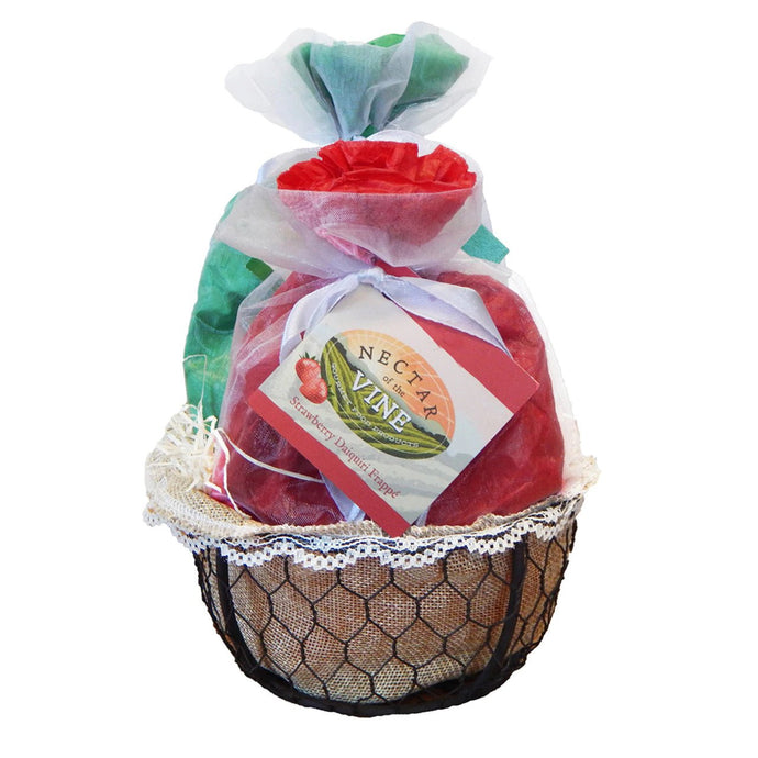 FRAPPÉ GIFT BASKET - WIRE (2 PACK)