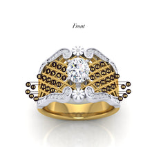 Load image into Gallery viewer, Custom Diamond Inspirational Divorce Ring
