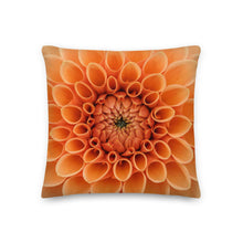 Load image into Gallery viewer, Orange Twist Throw Pillow