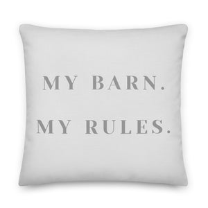 My Barn Throw Pillow