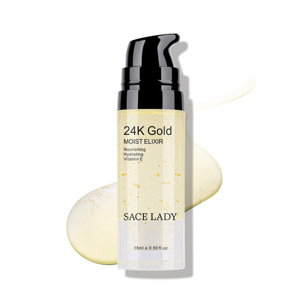 SACE LADY 24K GOLD FACE ESSENTIAL OIL MAKEUP FOUNDATION PRIMER