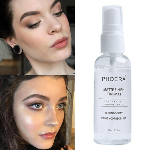 PHOERA MATTE LASTING TRANSPARENT FIX MAKE-UP SPRAY OIL CONTROL - 50ML