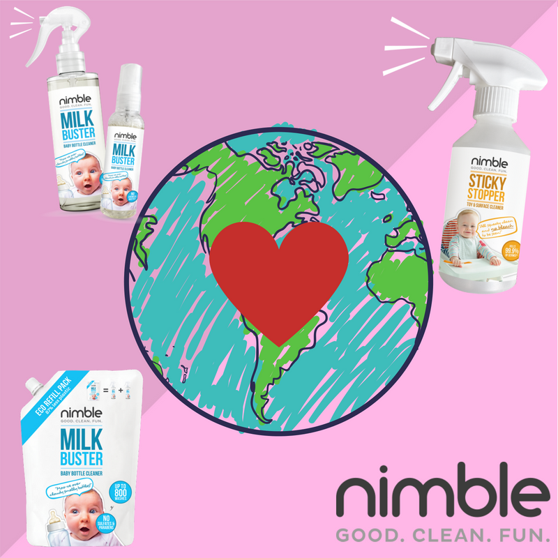 Nimble loves the planet and so should you!
