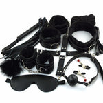 10 Pcs/set Sexy Lingerie Leather Sex Bondage Toys For Couples