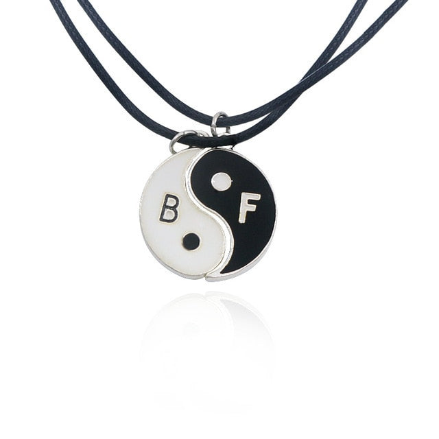 Yin Yang Couples Paired Pendant