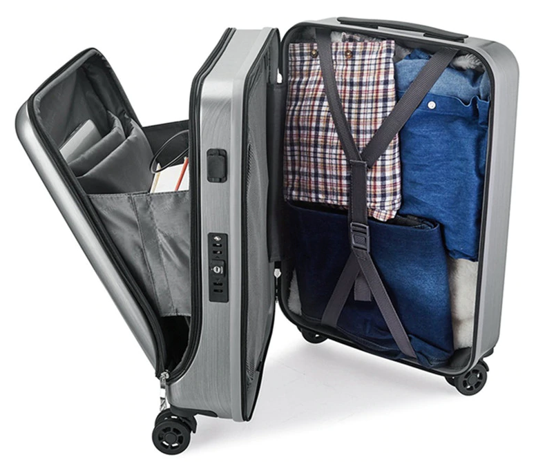 Lofthigher, backpack, Smart Cabin Suitcase with USB Charging Function