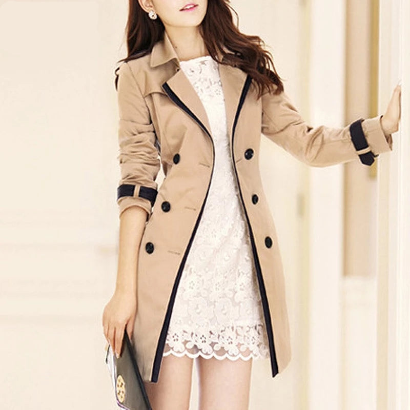Women's Fashion Trench Coat - Trend-This