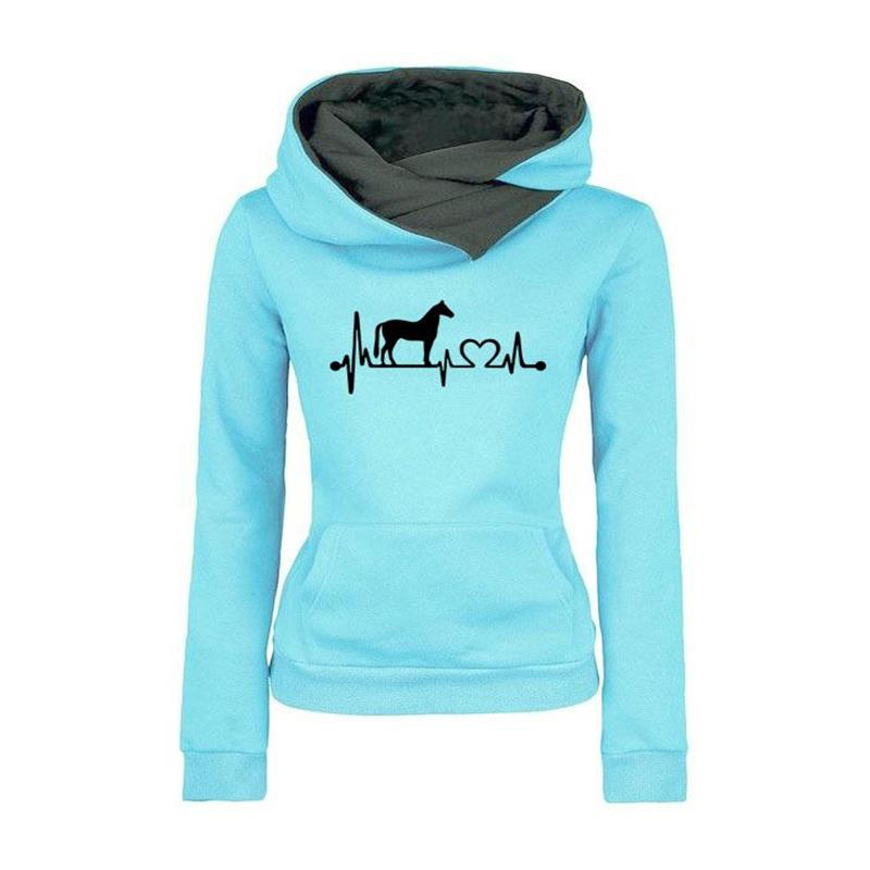 Horsey Heart Beat Pullover-Trend This
