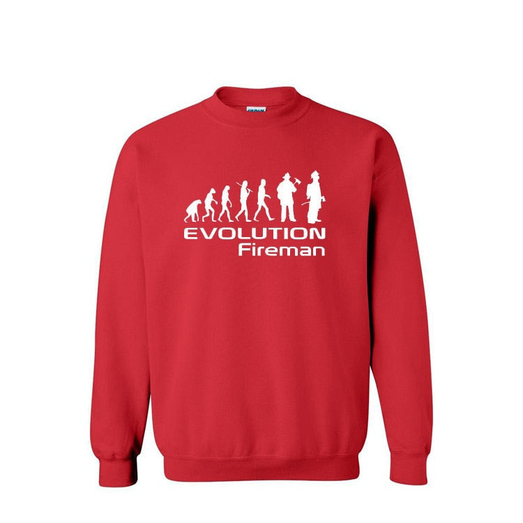 Evolution of Firefighter Pullover-Trend This