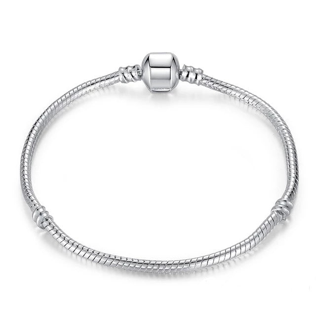 Silver Snake Chain Bracelet-Trend This