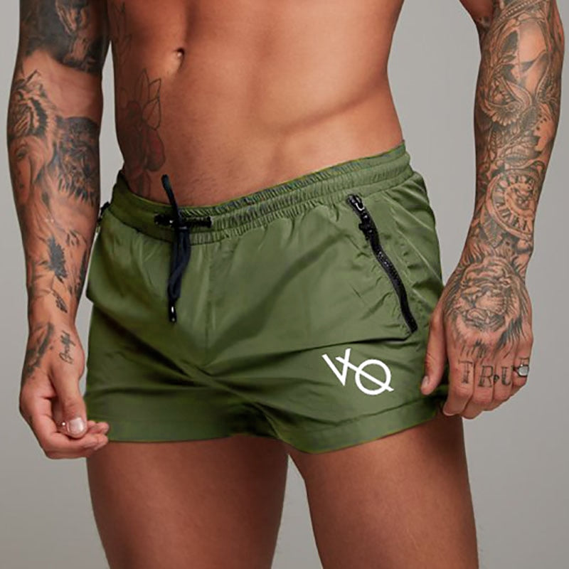 Men's Body Building Shorts-Trend This