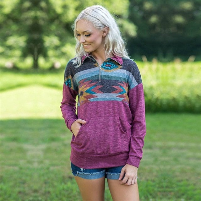 Ladies Loose Fit Pullover-Trend This