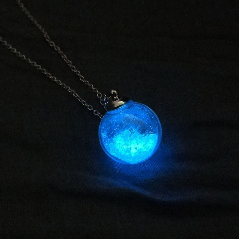 Glowing Crystal Ball Pendant-Trend This