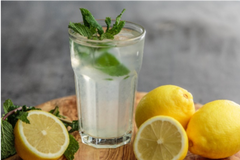 lemon drink can be used as natural remedy for migraine