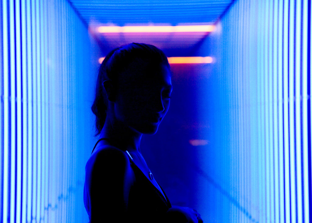 migraine, blue light