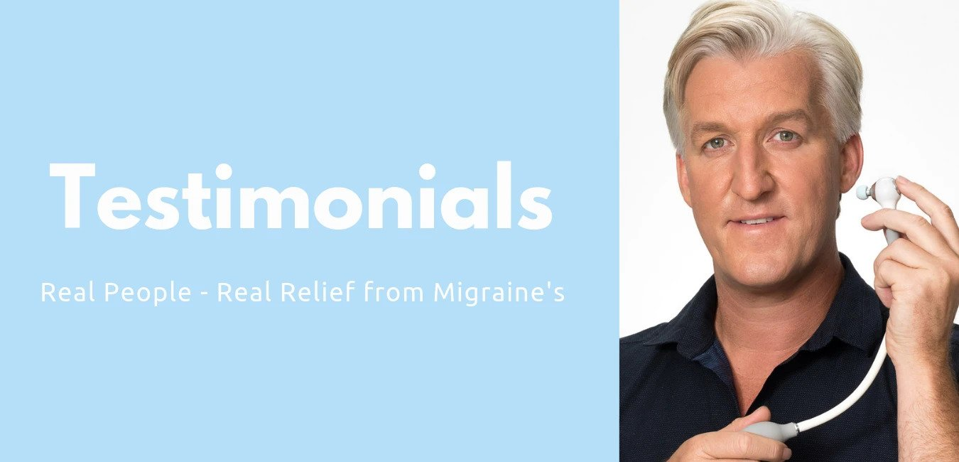 Testimonials - Real Relief from Migraine's